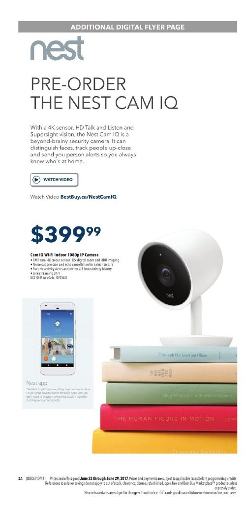 Best Buy Flyer June 23 June 29 2017 Smart Deals Canada